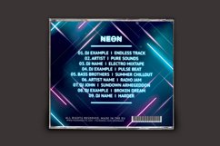 Neon CD Cover Artwork Product Image 4