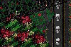 Gothic Christmas Digital Paper Set 2 Product Image 4