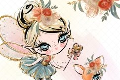 Fall Fairies Clipart Product Image 5