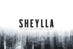 Sheylla Sans Serif Typeface Product Image 1
