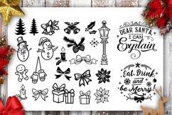 Christmas Bundle SVG bundle 40 designs Winter SVG Product Image 4