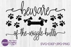 Beware of the Wiggle Butts SVG file Product Image 1
