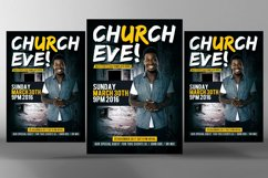 Sunday Services Church Flyer Psd Product Image 1