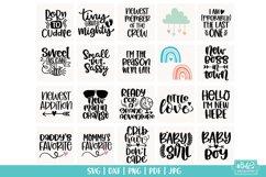 Baby SVG Bundle - Newborn SVG Cut Files - 20 Designs Product Image 2