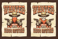 Wanted Wild West Cowboy 3 Posters Product Image 2