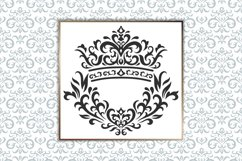 Vintage elements and seamless patterns. Crown and wreath Product Image 1