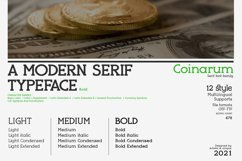 Coinarum - Serif font family Product Image 4