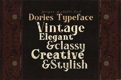 Dories - Display Font Product Image 3