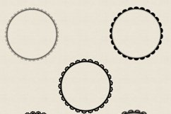 20 circle lace clipart | PNG | JPG Product Image 5