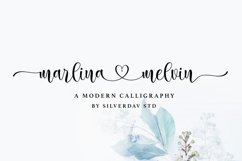 Marlina Melvin - Modern Calligraphy Font Product Image 1