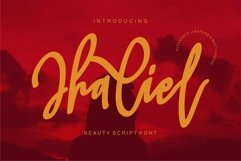 Web Font Jhaliel - Beauty Script Font Product Image 1