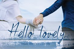 Classic valentine - A cute handwritten font Product Image 2