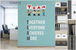 OFFICE Wall Mockup Bundle Product Image 3