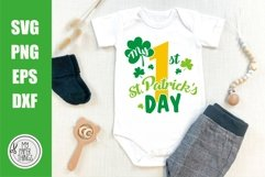 My 1st Patrick's day svg, Baby First Patrick's day svg Product Image 1