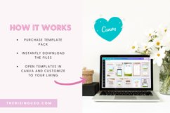 10 Ripped Paper Instagram Story Canva Templates For Bloggers Product Image 4
