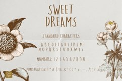 Sweet Dreams a hand-drawn wonky font Product Image 2