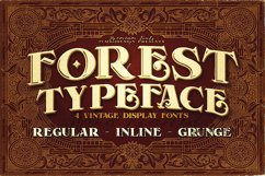 Forest - Display Font Product Image 1