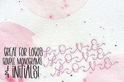 Linking Monogram Font - Linking Letters Product Image 4