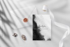 Ombre Watercolor Wedding Invitation Suite Product Image 5