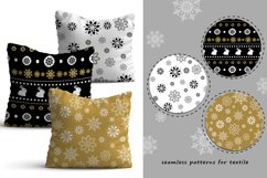 20 Winter seamless patterns Product Image 3