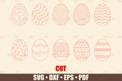 Easter Eggs SVG Bundle Glowforge Ready, SVG files for Cricut Product Image 3