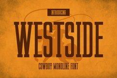 Web Font Westside Font Product Image 1