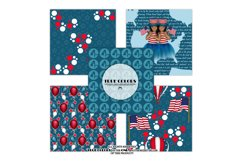 Independence Day Paper Pack Fashion Illustration Planner Product Image 3