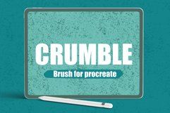 Crumble Texture Procreate Brush Product Image 1