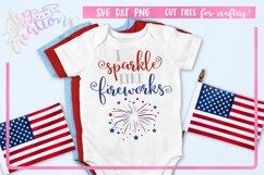 I Sparkle Like Fireworks - SVG Crafting files Product Image 1