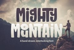 Mighty Mountain Font Product Image 1