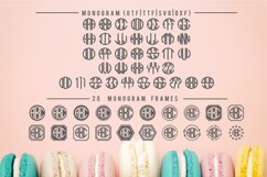 BIG Monogram Font Bundle | The Ultimate Bundle! Product Image 4
