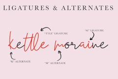Moraine Script Font in Two Styles Product Image 3