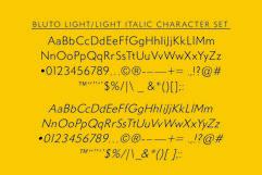 Bluto   Sans Serif Type Family Product Image 2