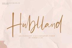 Hublland - Modern Script Product Image 1