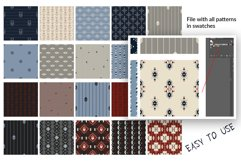 20 Tribal pattern and 24 elements Product Image 6