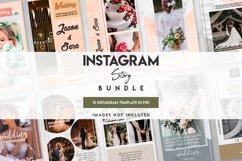 10 instagram wedding template set Product Image 1