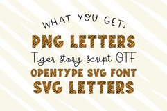 TIGER STORY Color Font Duo Product Image 3