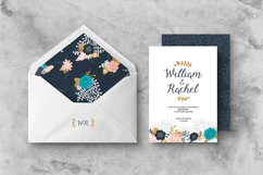 Floral Wedding Invitation Suite Product Image 4