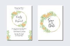 Wedding Invitations Set Card SVG, EPS, PNG Product Image 1