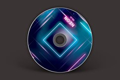 Neon CD Cover Artwork Product Image 3