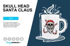 Skull Head Santa Claus Vector Illustration Product Image 4