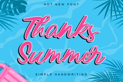 Thanks Summer Product Image 1