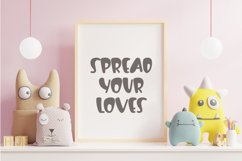 Flying Lover-Cute Display Font Product Image 5