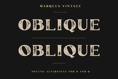 Marques Vintage Font Family Bonus Extras Product Image 6