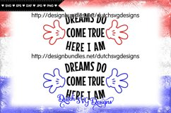 Cutting file Dreams, dreams svg, wish svg, baby svg Product Image 2