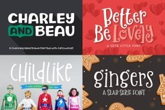 The Utterly Delightful Font Pack Product Image 2