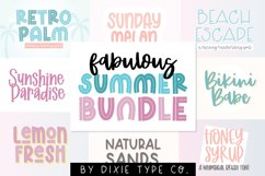 FABULOUS SUMMER Font Bundle Product Image 1