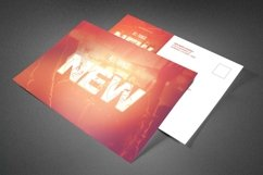 All Things New Church Postcard Product Image 1