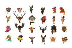 Vector Fashion Animal Icons Big Bundle 52  Product Image 2