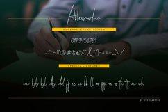 Alessandria Signature Font Product Image 11